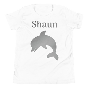 Personalised Dolphin T-Shirt - White - On The Merch