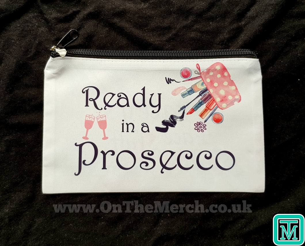 Prosecco Make Up Bag - On The Merch
