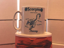 Load image into Gallery viewer, Scorpio Mug Personalised - On The Merch