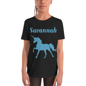Personalised Unicorn T-Shirt - Black - On The Merch