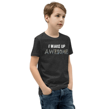 Load image into Gallery viewer, Wake Up Awesome T-Shirt - Black - On The Merch