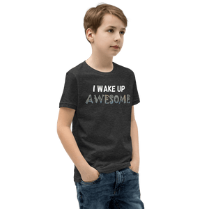 Wake Up Awesome T-Shirt - Black - On The Merch