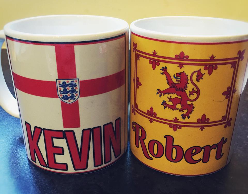 Country Flag Mug - Personalised - On The Merch
