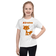 Load image into Gallery viewer, Personalised Fox T-Shirt - On The Merch