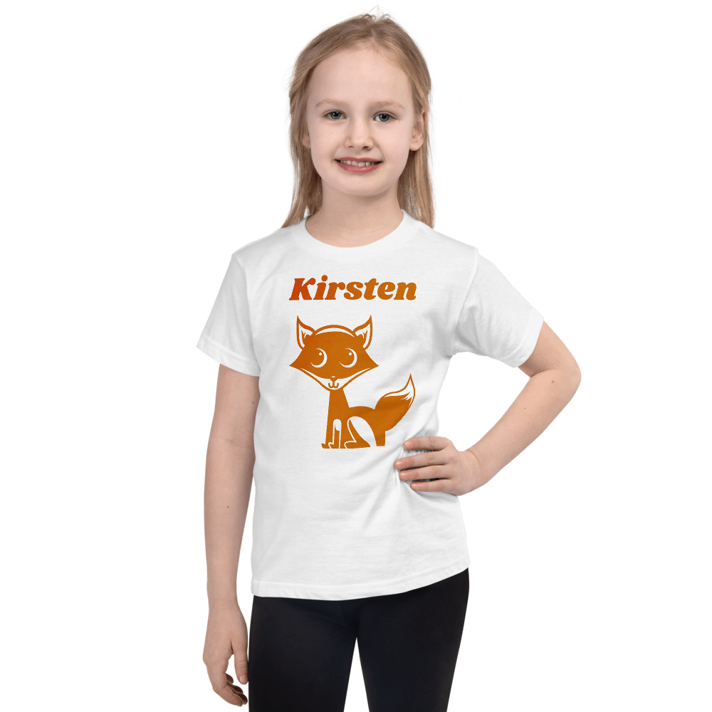 Personalised Fox T-Shirt - On The Merch