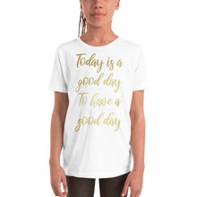 Load image into Gallery viewer, Good Day Kids Metallic T-Shirt - On The Merch