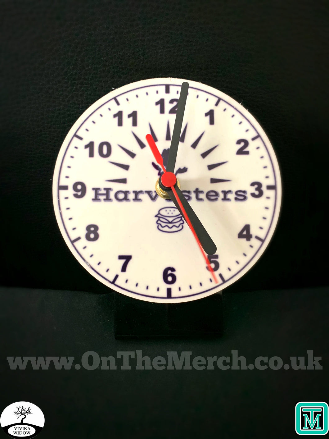 Harvesters Desk Clock - On The Merch