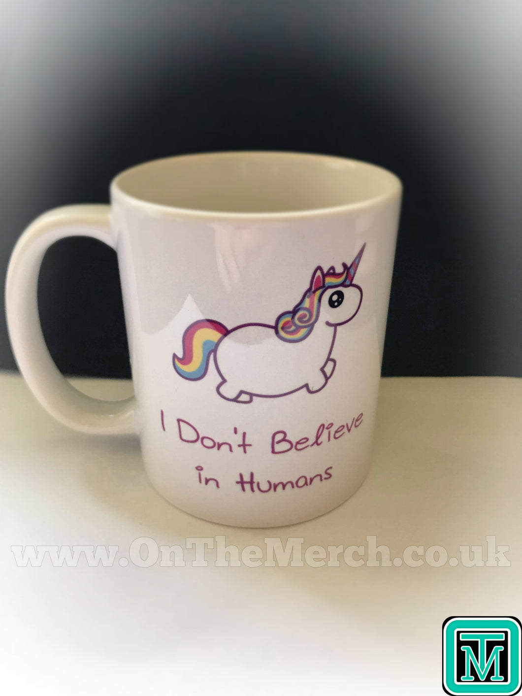 Unicorn I Don't Believe in Humans Mug - On The Merch
