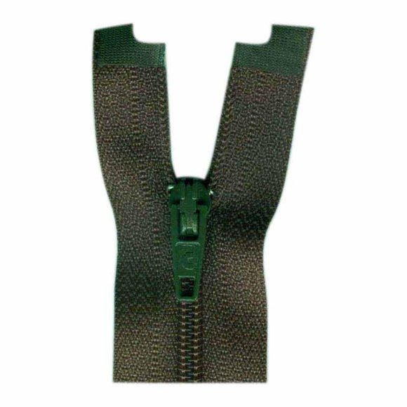 COSTUMAKERS General Purpose One Way Separating Zipper 23cm (9″) - Loden - 1703
