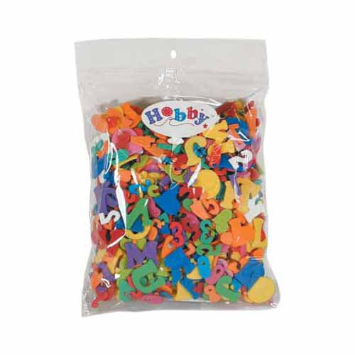 HOBBY Alphabet & Number Foamies bag - 30g