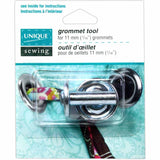 UNIQUE SEWING Grommet Tool - for 11mm (3⁄8″) grommets
