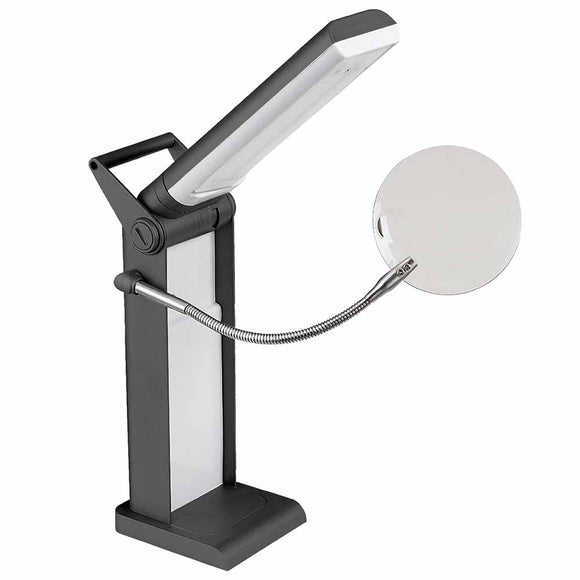 UNIQUE LIGHTING Foldable LED Desk Lamp