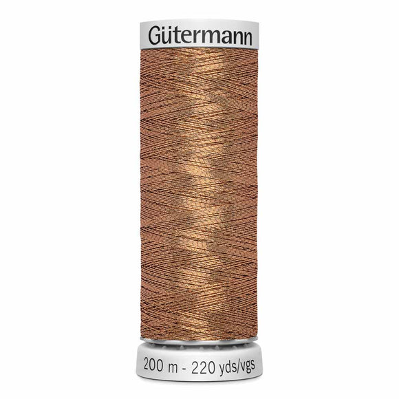 GÜTERMANN Dekor Metallic Thread 200m - Bronze