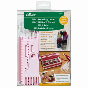 CLOVER 3176 Mini Weaving Loom - Single
