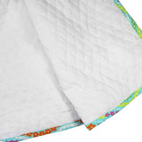 FABRIC CREATIONS Quilted Fabric - White - 1.8 x 1m (2yds x 42″)