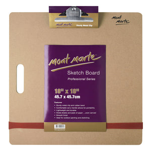 MONT MARTE Sketch Board with Clips - Medium