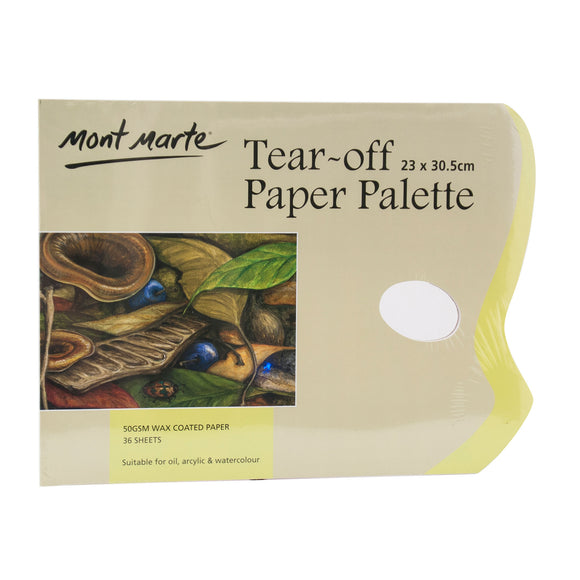 MONT MARTE Tear Off Palette Pad - 36 Sheets