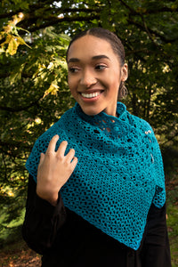Namaste Shawlette - Featured Pattern RCYC 2021