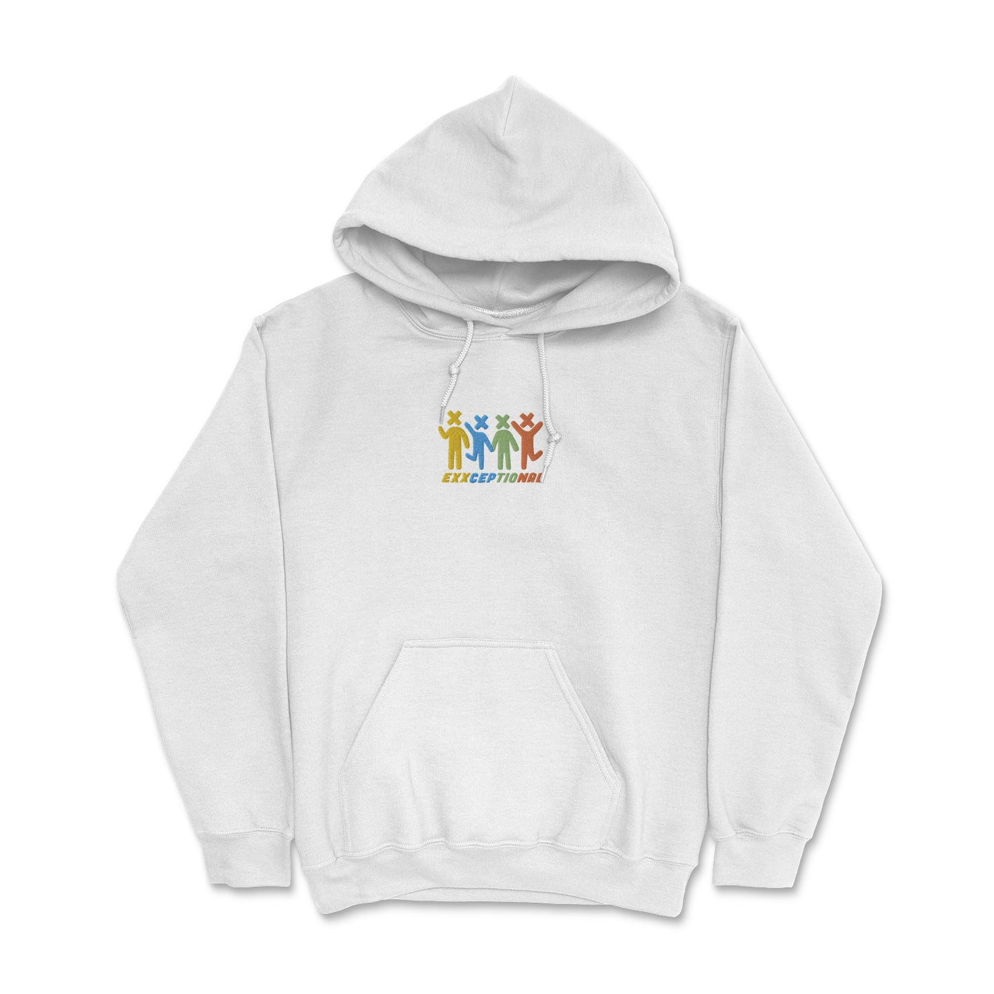 X Heads Embroidered Hoodie