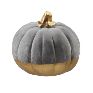Large Cement Pumpkin