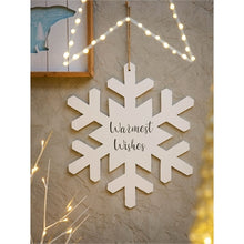 "Load image into Gallery viewer, 18"" Snowflake Decor"