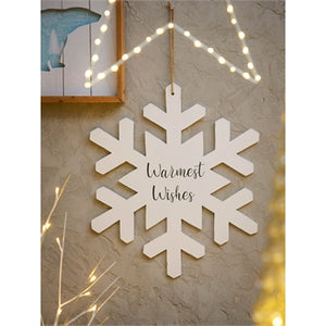 "18"" Snowflake Decor"