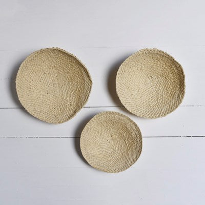 Straw Mat Wall Decor