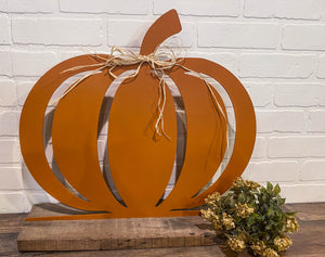 "16"" Pumpkin Cutout - Orange"