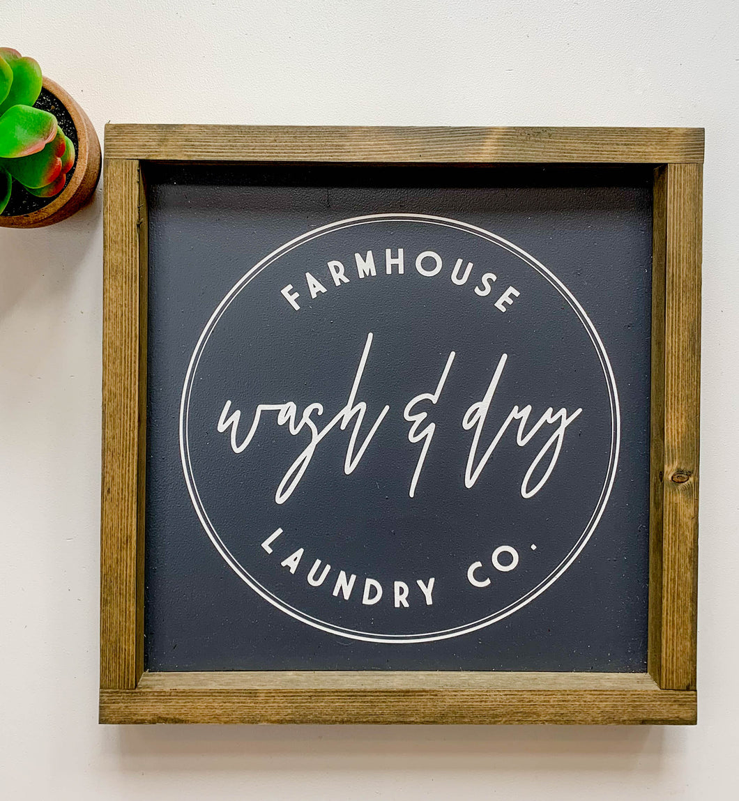 Farmhouse Wash & Dry Co.