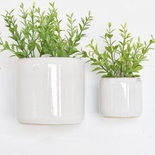 Load image into Gallery viewer, White Jug Wall Planters