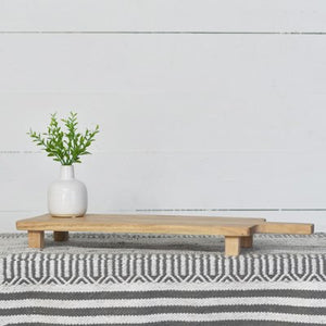 Wood Serving Board with Feet