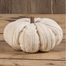 Load image into Gallery viewer, Cable Knit Pumpkins