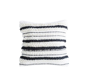 "18"" Square Wool Woven Pillow"