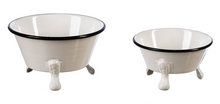 Load image into Gallery viewer, Mini Enamel Round Claw Foot Bathtub