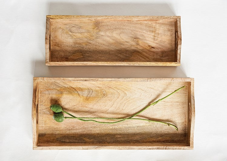 Rectangle Mango Wood Trays