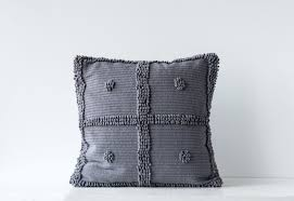 Square Cotton Chenille Pillow