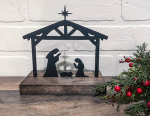 "6"" Nativity Cutout"