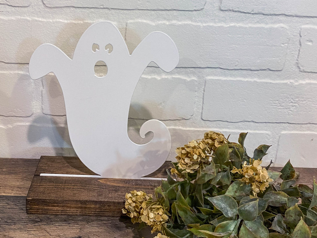 "10"" Ghost Cutout - White"