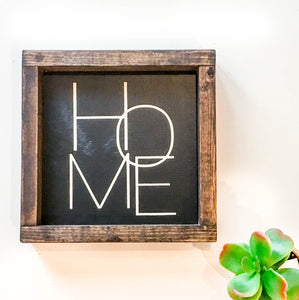 Handmade Sign - HOME