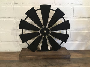 "10"" Windmill - Black"