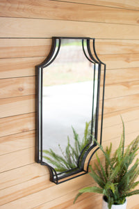 Metal Framed Wall Mirror