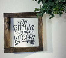 Load image into Gallery viewer, Handmade Sign - In My Kitchen