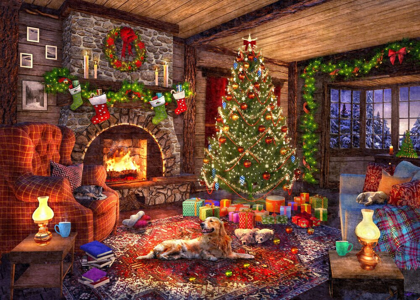 A Cozy Cabin Christmas