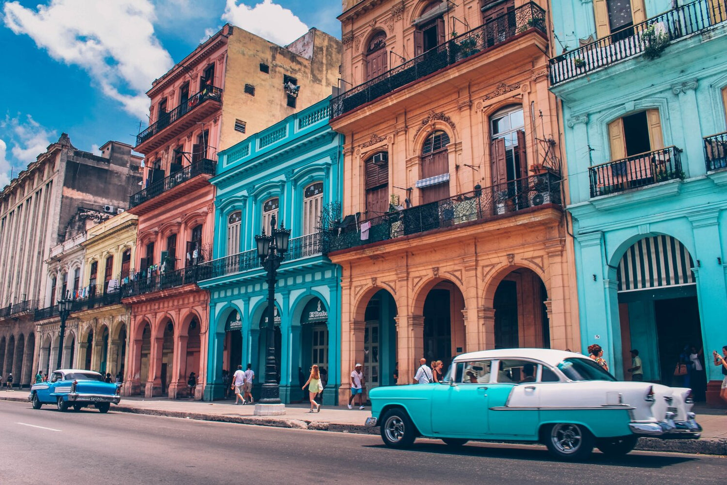 Cruising through Havana