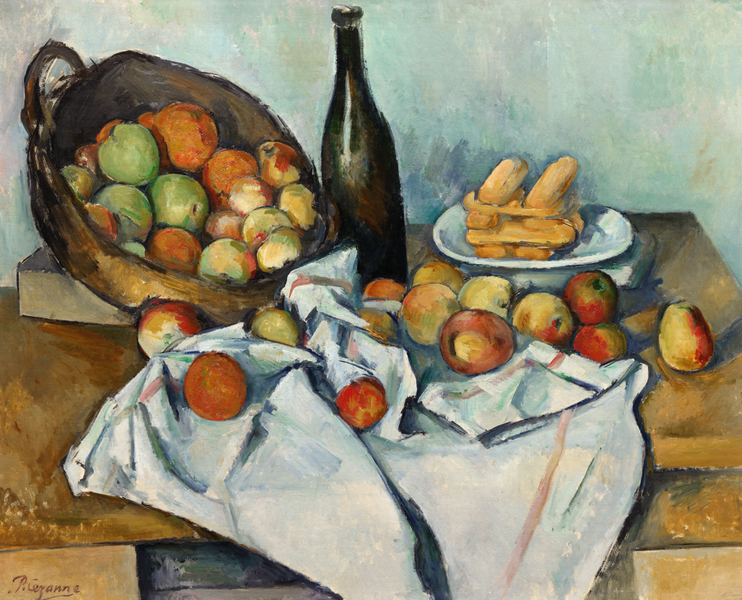 Basket of Apples by Paul Cezanne