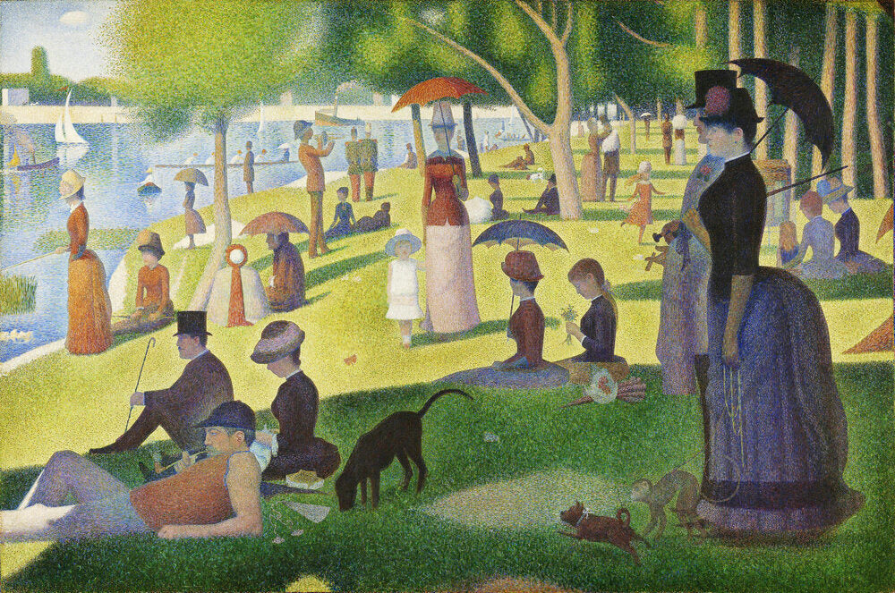 A Sunday on La Grande by Georges Seurat