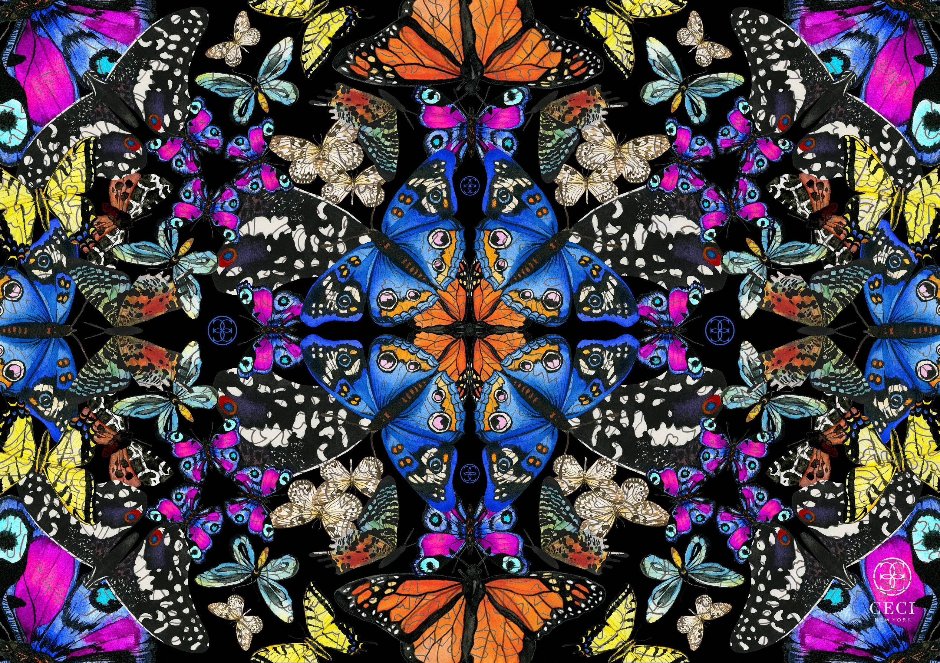 Butterfly Kaleidoscope by Ceci New York
