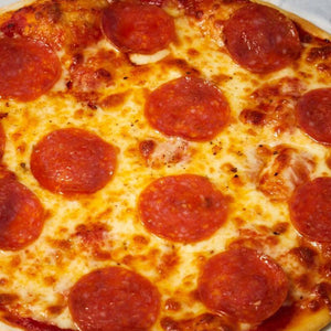 gluten friendly pepperoni pizza