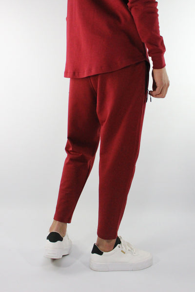 PANTALON JOGUNI BORDEAUX