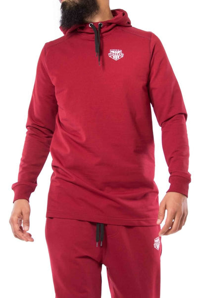 SWEAT CAPUCHE BORDEAUX